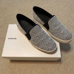 VINCE Blair black & White size 9 🖤